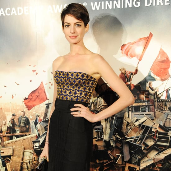Anne Hathaway at Les Mis London Afterparty | Pictures