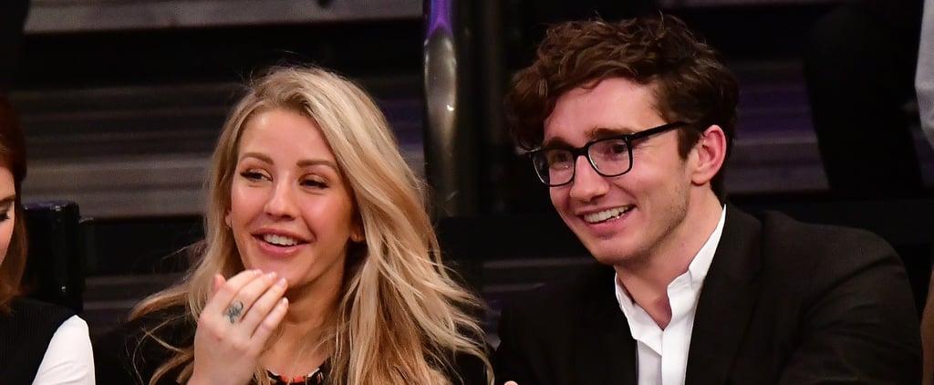 Ellie Goulding and Caspar Jopling Engagement