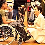 Little Boy Meets Meghan Markle National Theatre January 2019