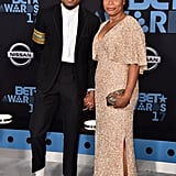 Chance the Rapper and His Mom at the 2017 BET Awards
