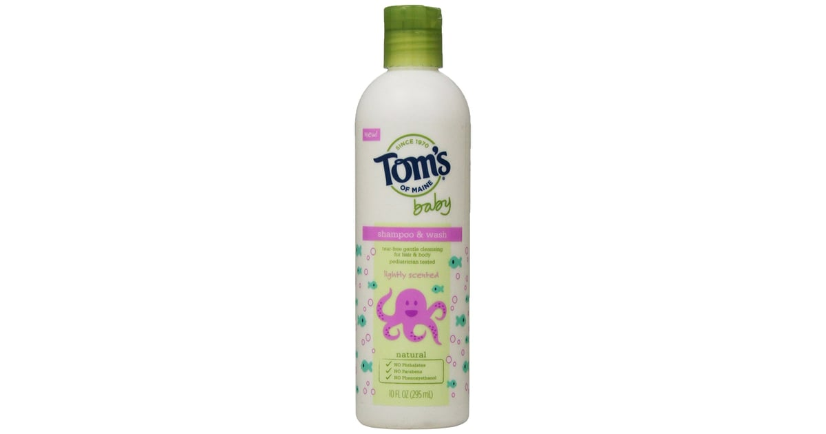 Tom S Of Maine Natural Baby Shampoo Amp Wash Best Natural