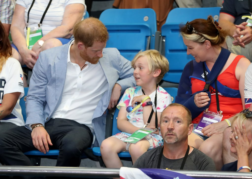 When He Chatted With This Boy During a Stop at the English Institute of Sport