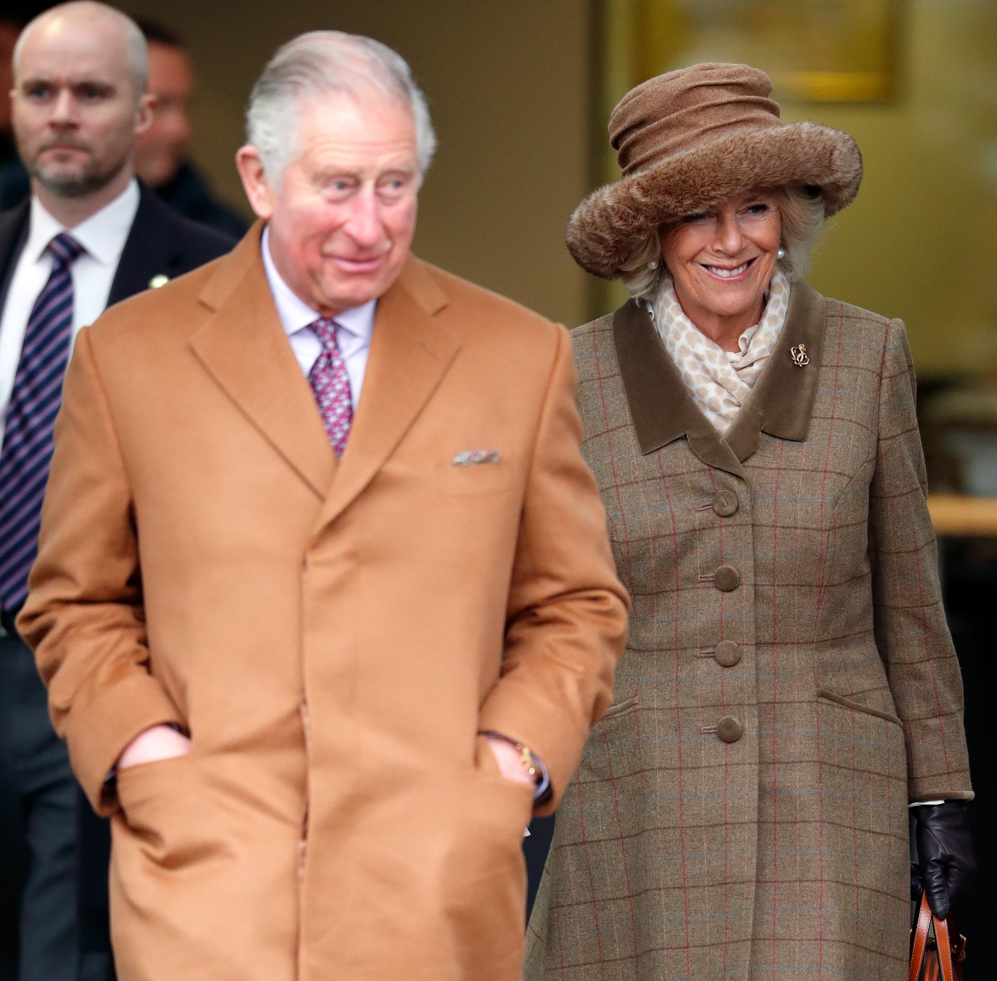 ASCOT, UNITED KINGDOM - NOVEMBER 23: (EMBARGOED FOR PUBLICATION IN UK NEWSPAPERS UNTIL 24 HOURS AFTER CREATE DATE AND TIME) Prince Charles, Prince of Wales and Camilla, Duchess of Cornwall attend The Prince's Countryside Fund Raceday at Ascot Racecourse on November 23, 2018 in Ascot, England. (Photo by Max Mumby/Indigo/Getty Images)