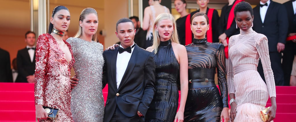 The Balmain Army Took Over the Cannes Red Carpet in Custom Dresses
