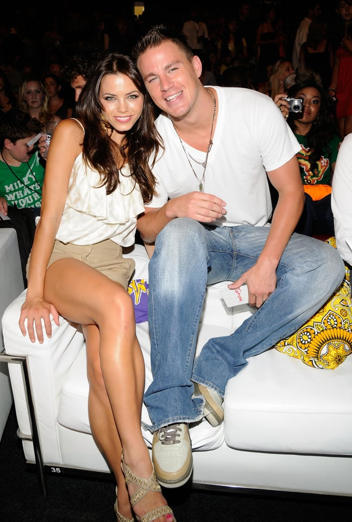 Channing Tatum And Jenna Dewan Cute And Sweet Pictures