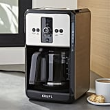 Krups Savoy Turbo 12-Cup Stainless Steel Coffee Maker