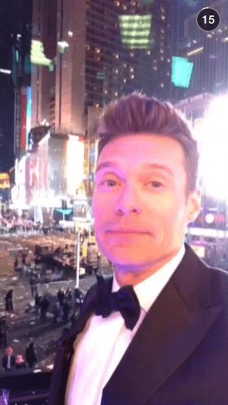 Ryan Seacrest on Snapchat: ryanseacrest