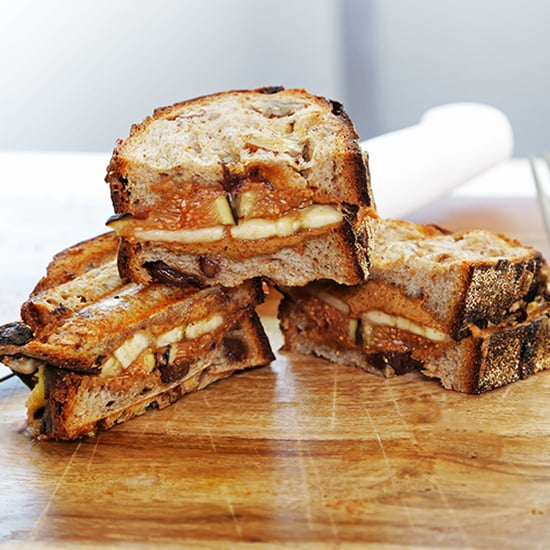 Fig Panini With Almond Butter Recipe | Video