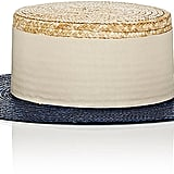 Eugenia Kim Women's Cruz Straw Boater Hat
