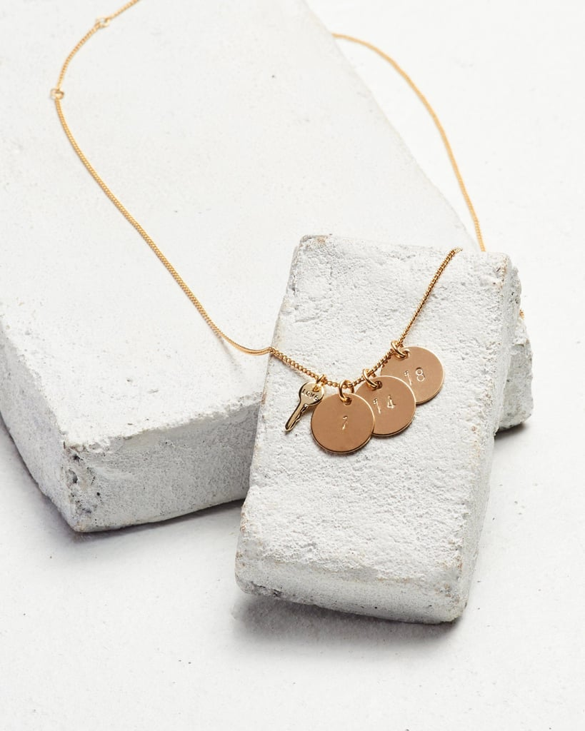Date to Remember Disc Pendant Necklace