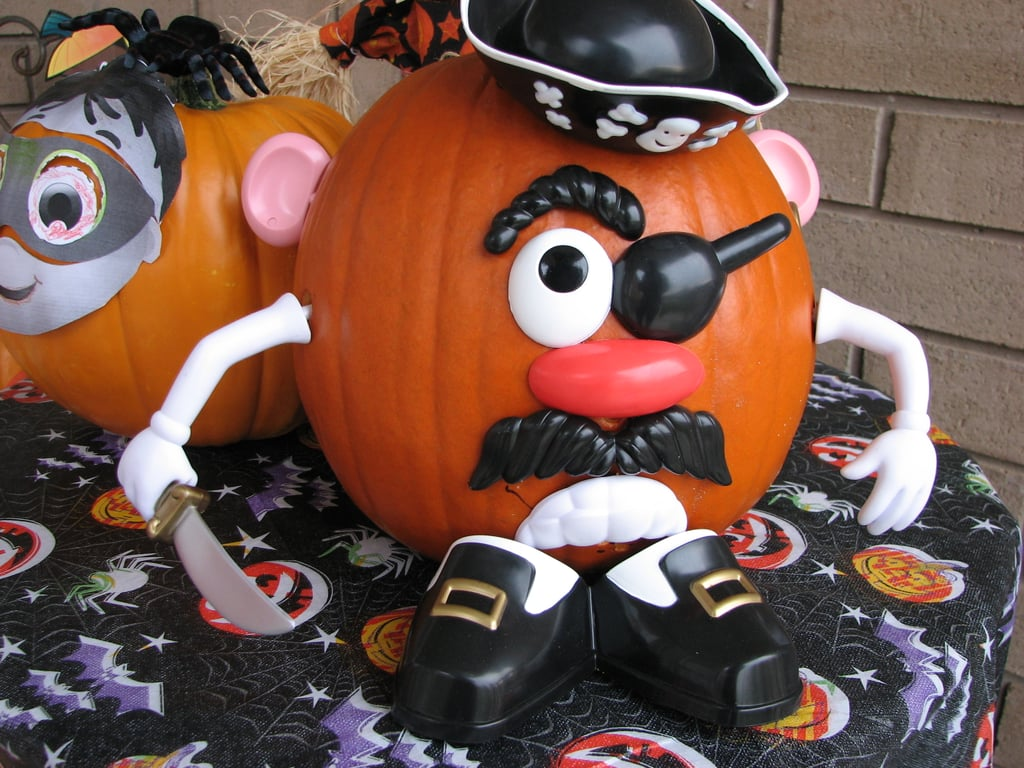 Mr. Potato Head Pumpkin