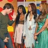 Tom Cruise couldn't even look Beyoncé in the eye.