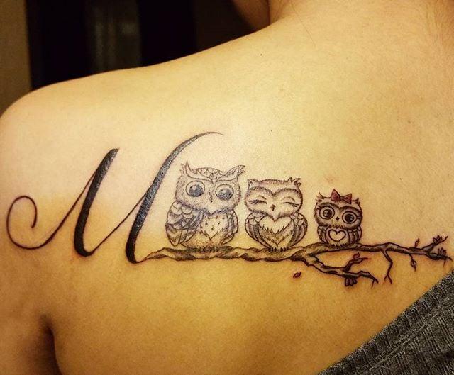 Owl Tattoo Ideas Popsugar Beauty