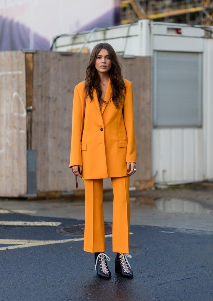 Tangerine Suit