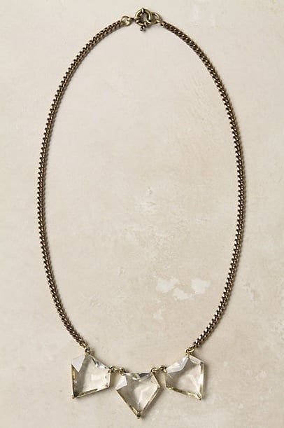 Anthropologie Hailstone Necklace