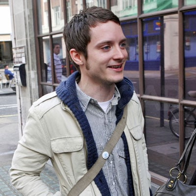Elijah Wood Out in London