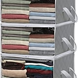 Simple Houseware 3-Pack Foldable Closet Organisers