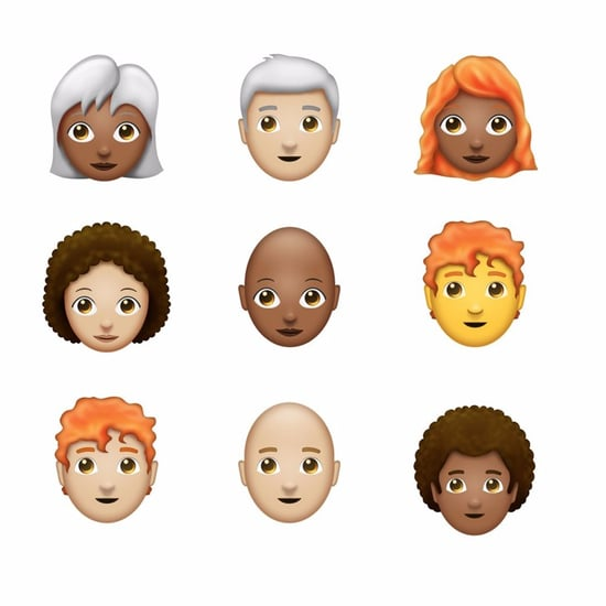 New Hair Emoji Proposal 2017