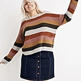 Shop Similar: Madewell Patch Pocket Pullover Sweater in Walton Stripe