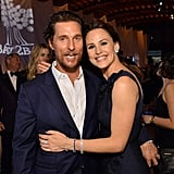 Pictured: Matthew McConaughey and Jennifer Garner