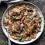 Slow-Cooker Herbed Chicken and Rice Pilaf