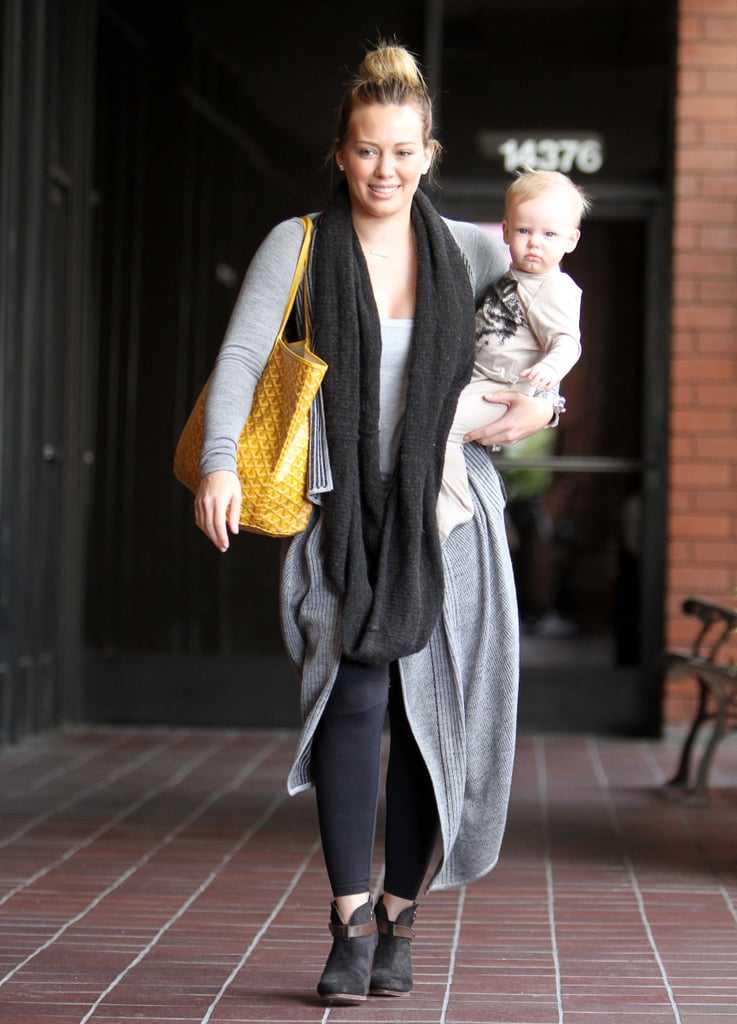 Hilary Duff and Mike Comrie became first-time parents when they welcomed son Luca Comrie in March.