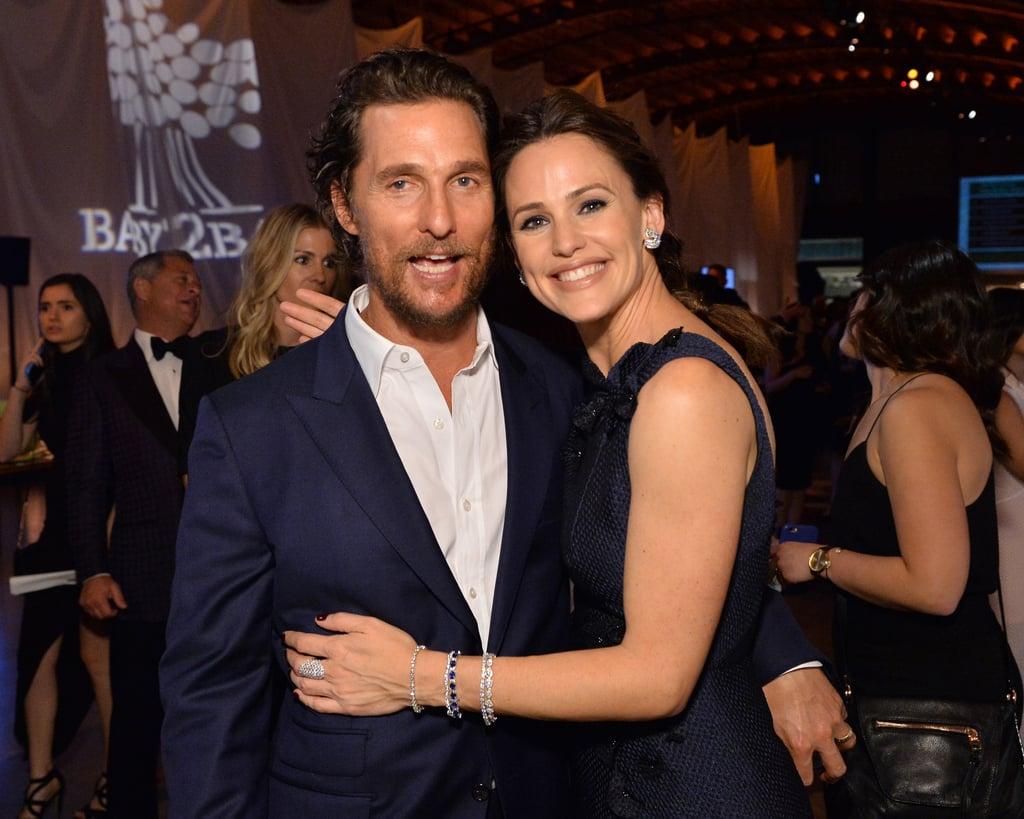 Pictured: Matthew McConaughey and Jennifer Garner