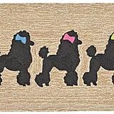 Poodle Doormat ($39)
