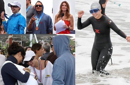 Photos of Jennifer Lopez and Matthew McConaughey at the Malibu Triathlon