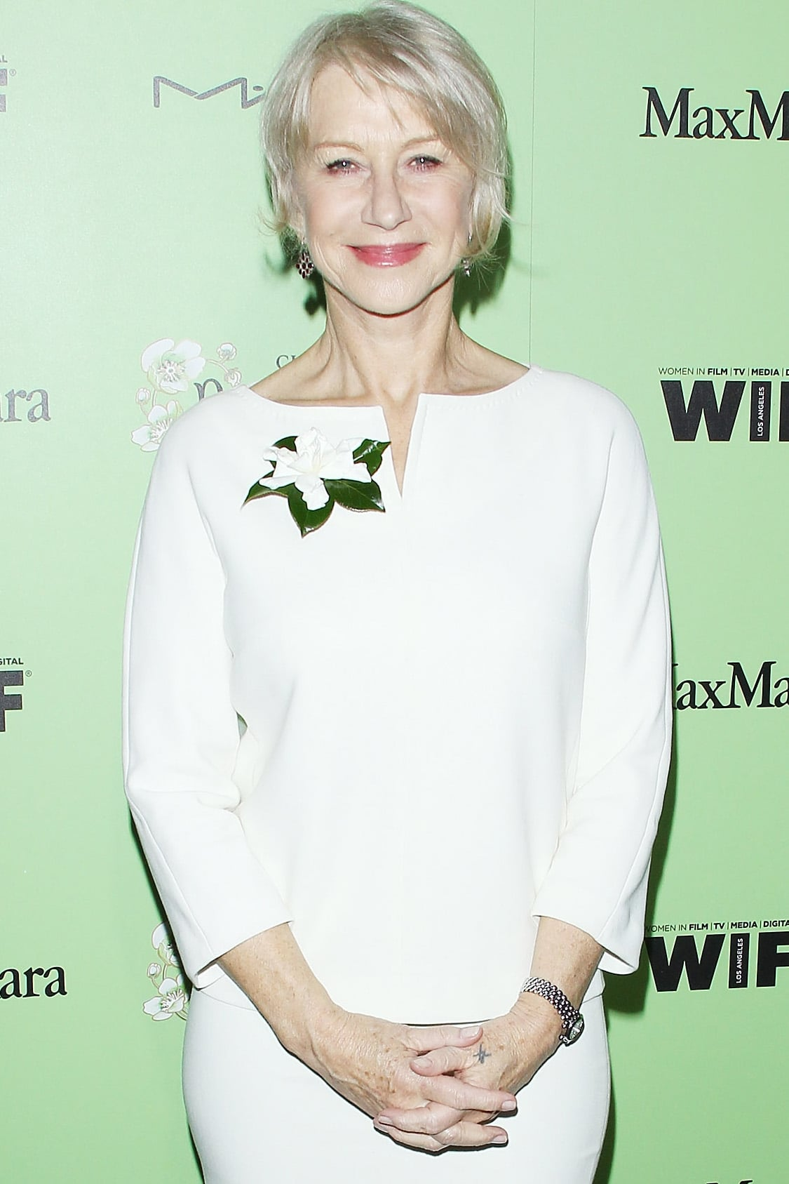 Helen Mirren joined Trumbo, alongside Bryan Cranston. The biopic is about blacklisted screenwriter Dalton Trumbo, one of the Hollywood 10.