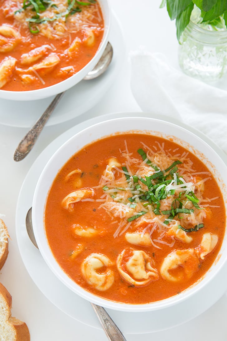 Slow-Cooker Tomato Basil Tortellini Soup | 18 Set-It-and-Forget-It ...