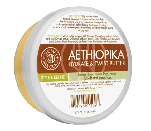 Qhemet Biologics Aethiopika Hydrate and Twist Butter