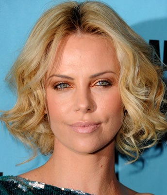 How to Wear Metallic Eye Shadow Like Charlize Theron