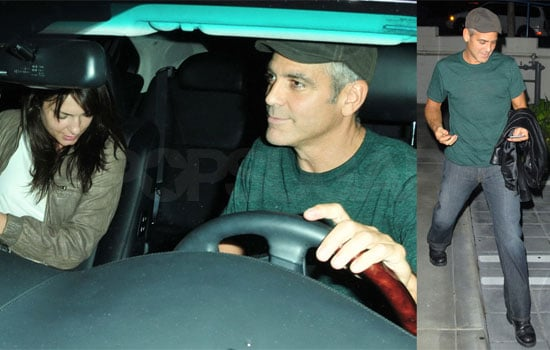 George Clooney on a Date in LA