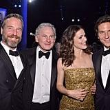 Rainer Andreesen, Victor Garber, Jennifer Garner, and Bradley Cooper