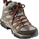 Ditch the running shoes for a pair of solid hiking boots, which are specifically designed to give wearers an edge over the elements. These Merrell Moab Mid Waterproof Hiking Boots ($120) are waterproof, protect the ankles from twists and turns, and have just enough sticky rubber to provide the right traction in wet or dry conditions. The boots are also breathable and contain antimicrobial technology to keep odor away.