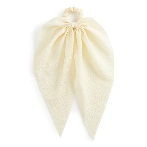 Kohl's Textured Draped Bow Hair Scrunchie