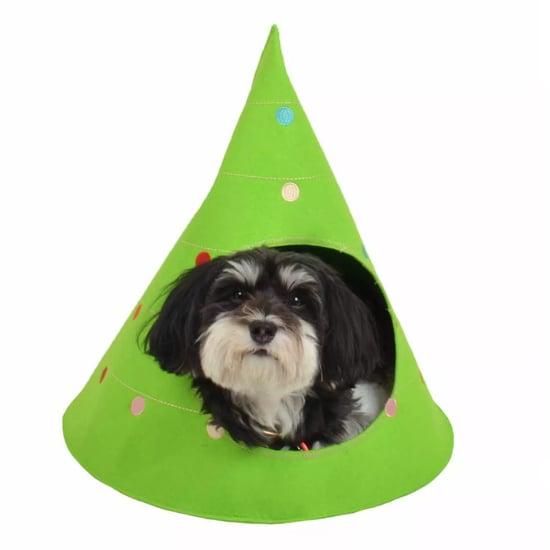 Christmas Tree Cave Pet Bed at Target Wondershop