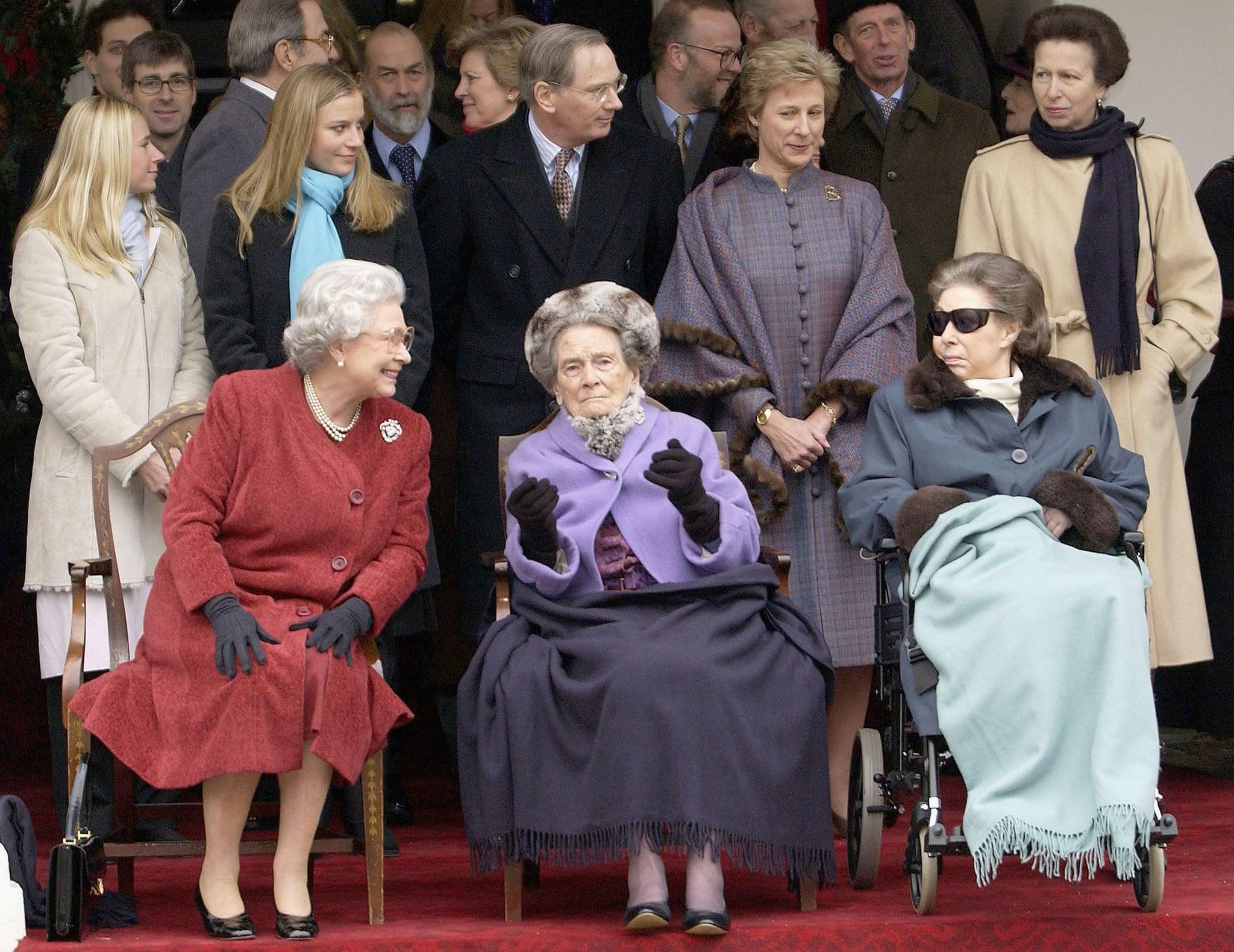 Queen Elizabeth Ii And Princess Margaret Pictures Popsugar
