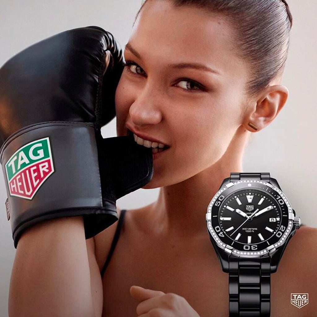 Bella Hadid Announced As Face of Tag Heuer