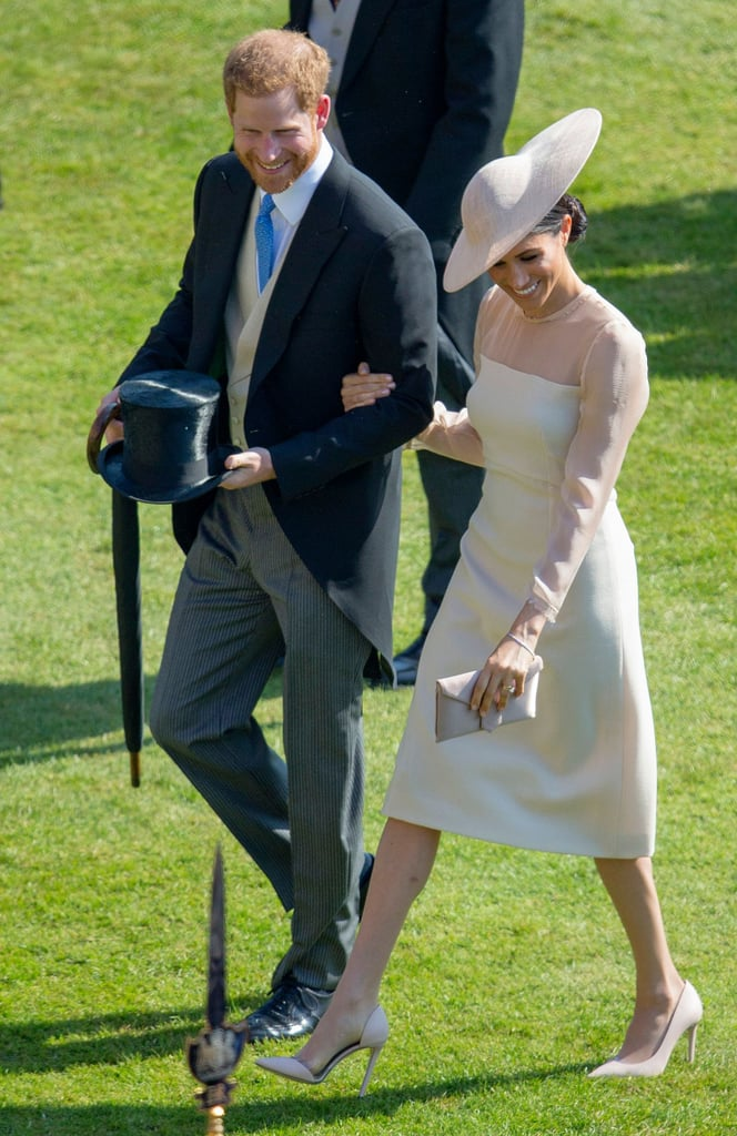 May: When They Attended Prince Charles's 70th Birthday Garden Party Together