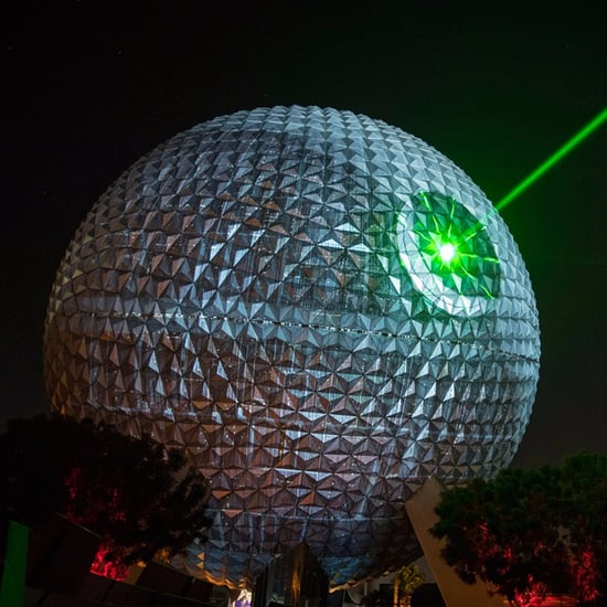 Epcot Center Turns Into Death Star