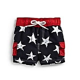For Baby Boys: Hartstrings Stars Swim Trunks