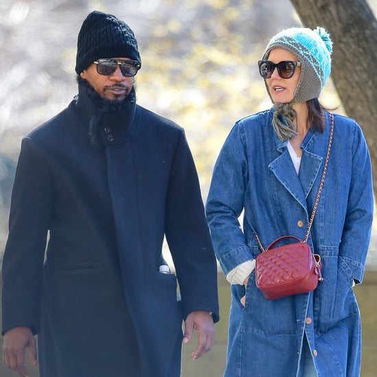 Katie Holmes and Jamie Foxx Walking in NYC March 2019