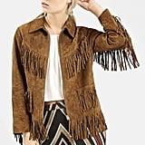 Topshop Suede Fringe Jacket ($280)