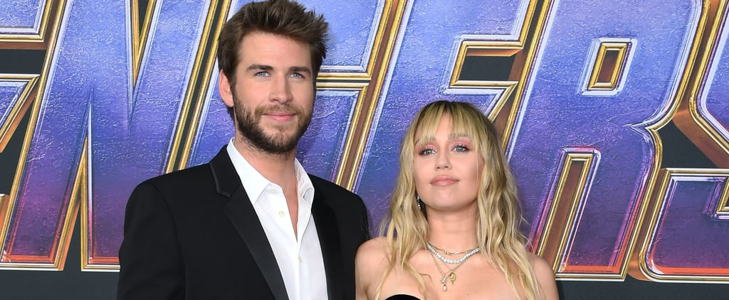 Miley Cyrus Wears Black Dress at Avengers Endgame Premiere