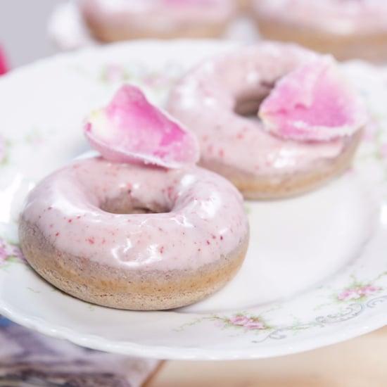 Rose Wine Doughnuts