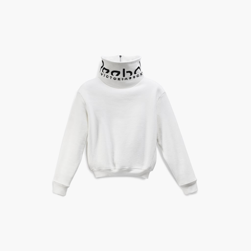 81afea939e Reebok Victoria Beckham Cropped Branded Cowl in White ($250 ...
