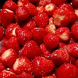 Remove strawberry stems efficiently.