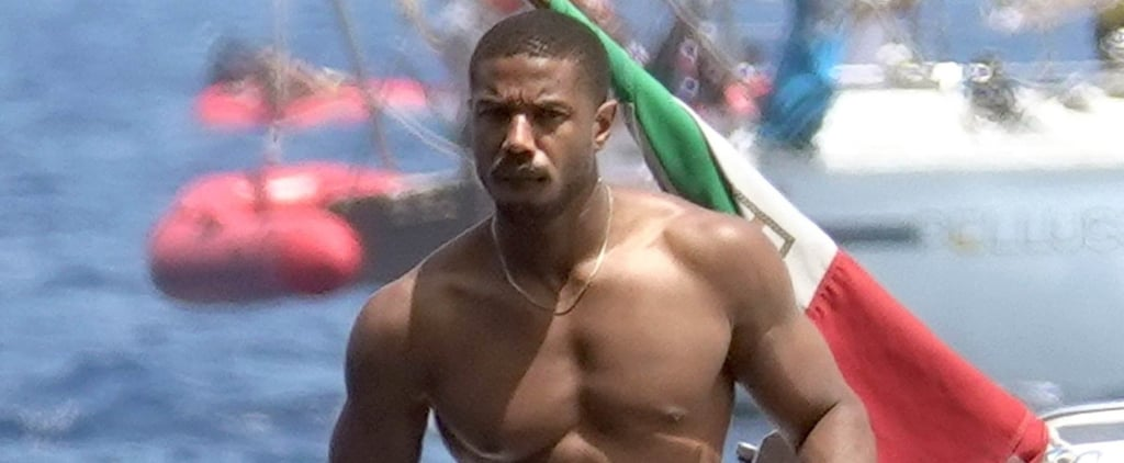 Michael B. Jordan Shirtless in Italy Pictures July 2018